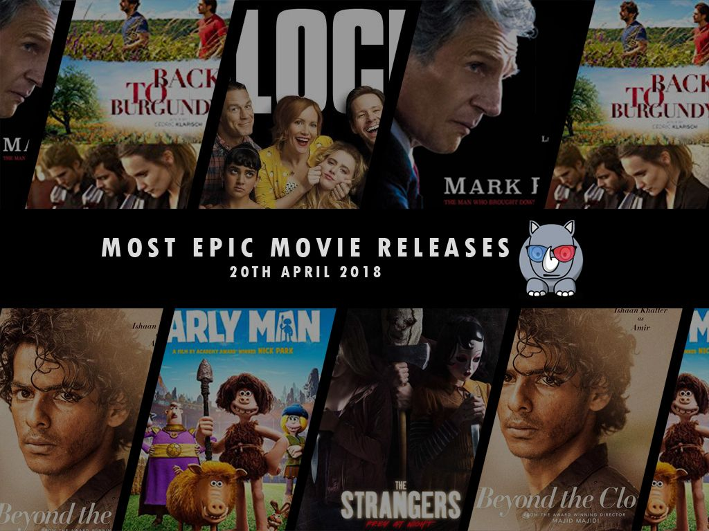 Most Epic Movie Releases For This Week 20th April 2018