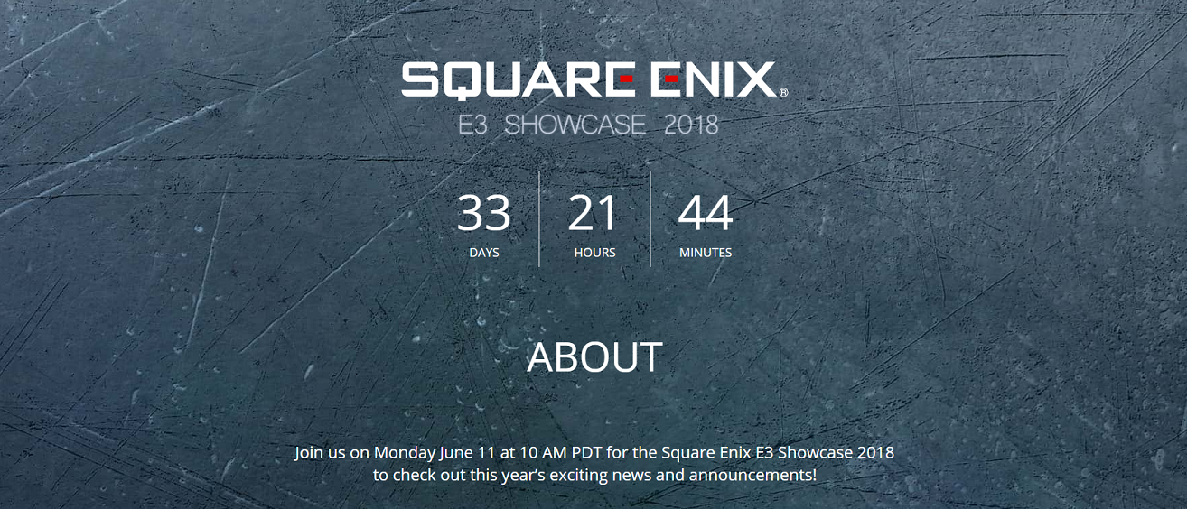 Square Enix returns to E3 2018