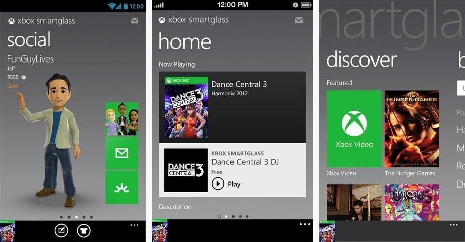 Microsoft Retiring Xbox 360 SmartGlass on all Platforms today