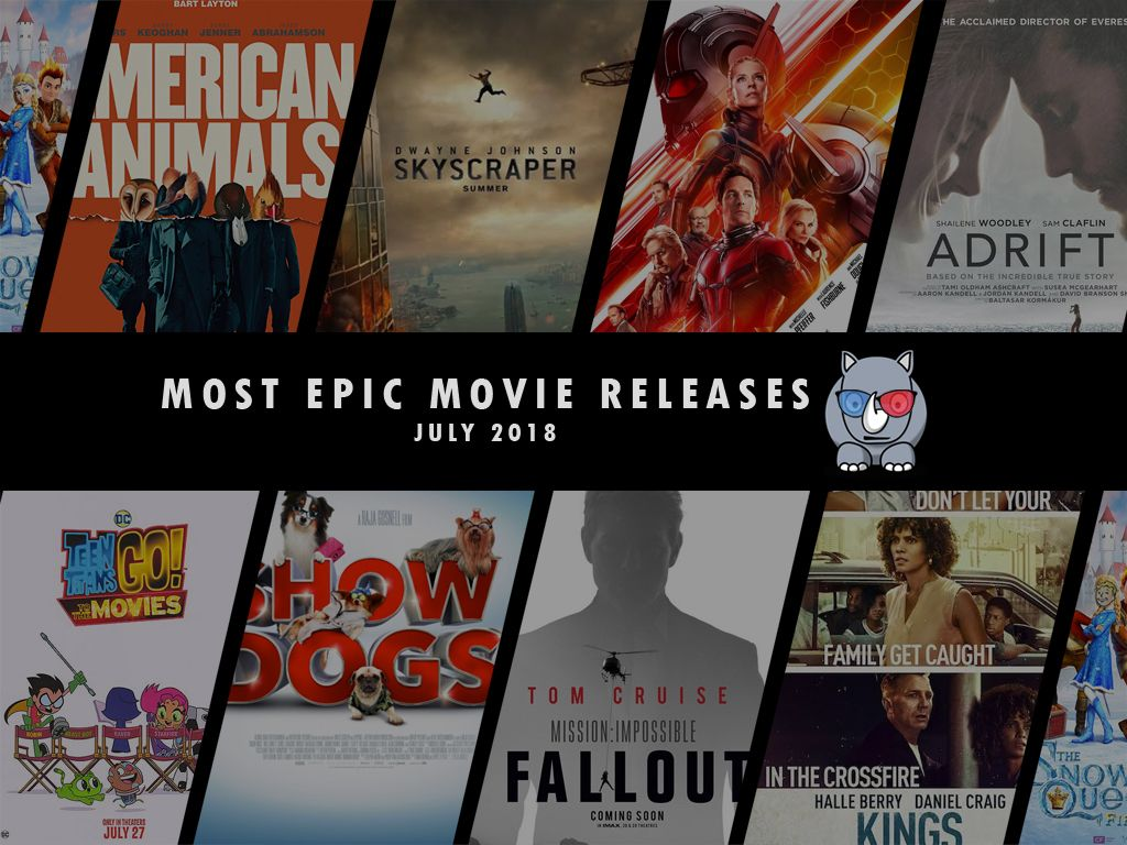 Most Epic Movie Releases For July 2018
