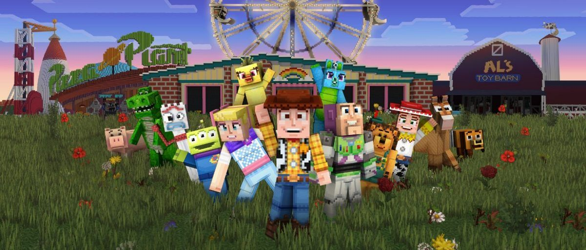 Minecraft Toy Story mash-up DLC released