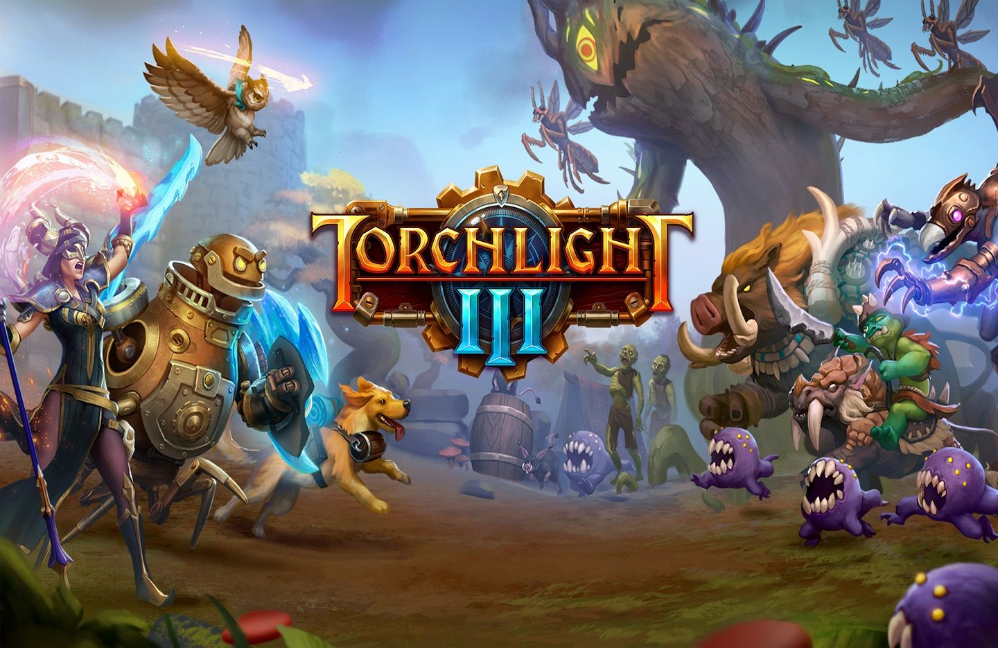 Torchlight III — Big changes to Torchlight Frontiers