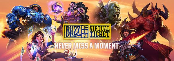 Blizzcon 2018 celebration starts early with the sale of the virtual ticket