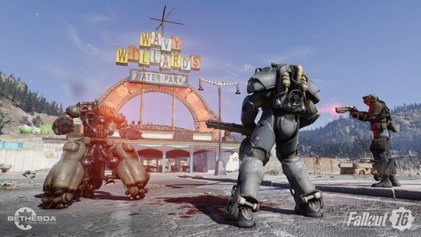 Fallout 76 BETA has a nasty bug