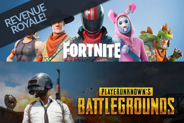 Revenue Royale: Fortnite and PUBG are the 2018 Revenue Kings