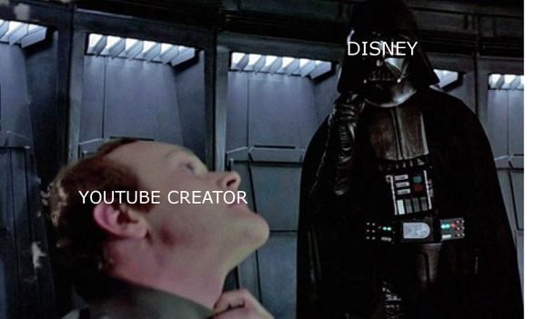Disney claims profits from Vader fan film