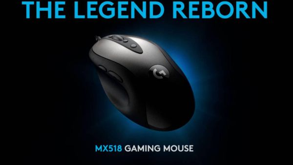 Logitech is bringing back its legendary MX518 gaming mouse in 2019
