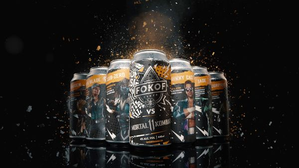 Fokof Lager is teaming up with Mortal Kombat™ 11