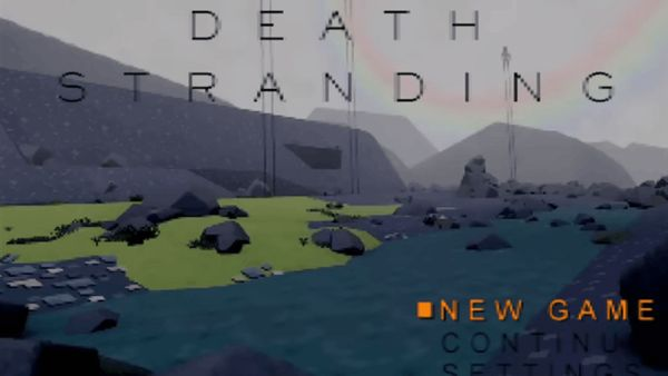 "Fan creates Death Stranding ""demake"" trailer for the original PlayStation"